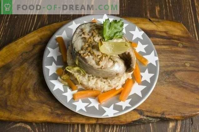 Gebakken vis in de hoes - tonijn in de oven