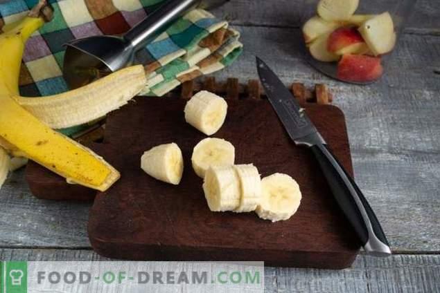 Voedzame bananensmoothie
