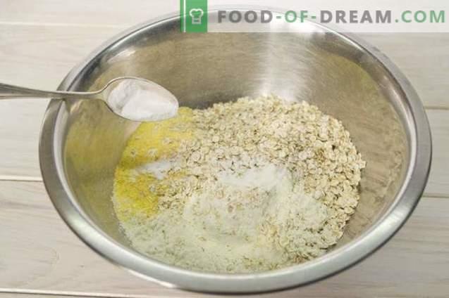 Pannenkoekentaart op yoghurt met frambozengelei