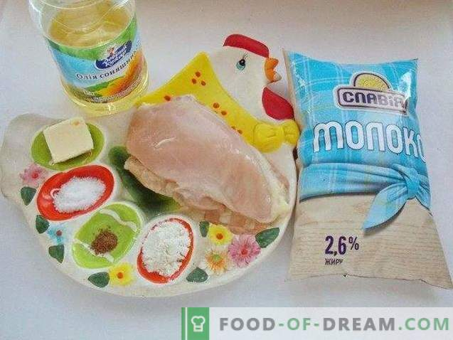 Kurczak z beszamelem
