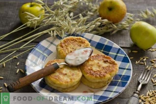 Диетични чийккейси с ябълки
