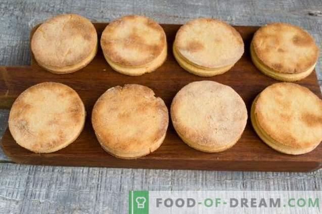 Zelfgemaakte koekjes voor de paas-tafel