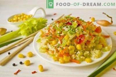 Peking-rijst met groenten