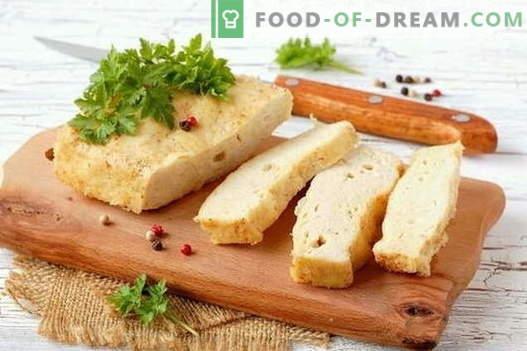 Soufflé - de beste recepten. Hoe goed en smakelijk vlees, kip, kwark, vis en andere soufflés koken.