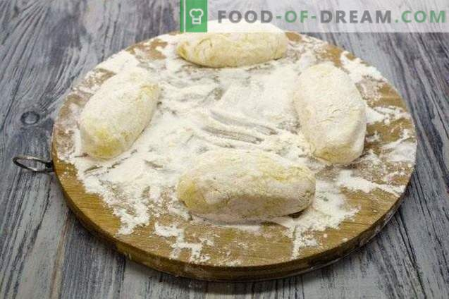 Aardappelzaad - aardappelpasteitjes met kippenlever