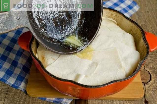 Shakh-pilaf in pitabrood - consumerend voor de vakantie