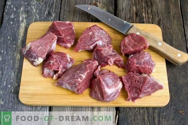 Sappige rundvleeskebab
