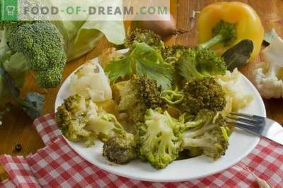 Broccoli stew with chicken