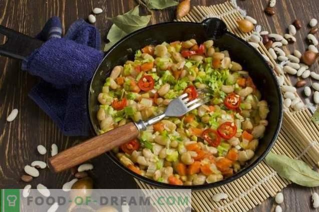 Zelenjava z fižolom