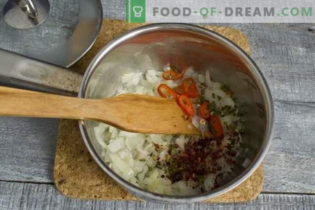 Обикновена зеленчукова супа с шунка