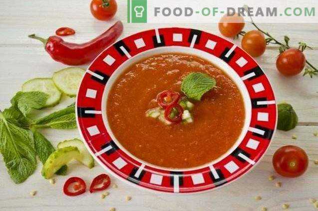 Gazpacho - koude tomatensoep