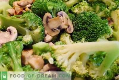 Broccoli met champignons