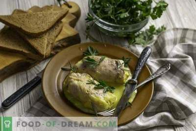 Juicy Cordon Blue Chicken Rolls met Bechamel Sauce