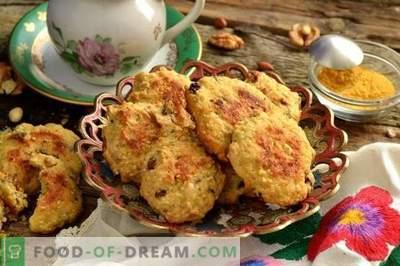 Zelfgemaakte koekjes met haast