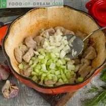 Porc aux courgettes et pommes de terre