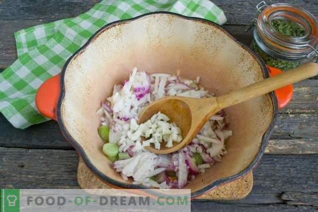 Cremesoep met courgette en kip