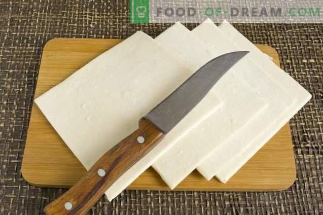 Bouffées de viande, pommes de terre et fromage