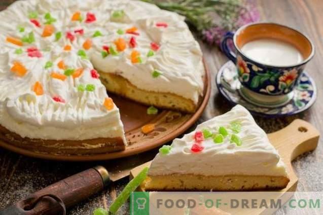 Cheesecake met slagroom