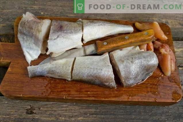 Heerlijke navaga in de oven - vis onder de marinade