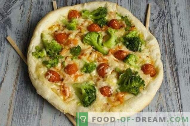 Посно пица со брокула и тофу