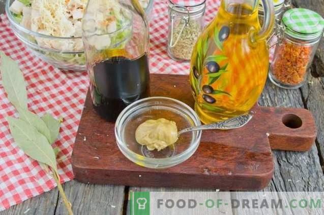 Ensalada de col joven, jamón y galletas