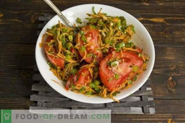 Korean Fast Pickled Tomatoes