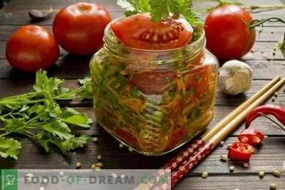 Tomates coréennes au vinaigre