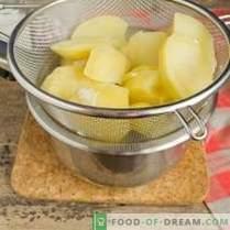 Aardappelpuree - recept met melk en boter