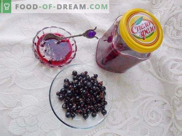 Zwarte bes, geraspt met suiker