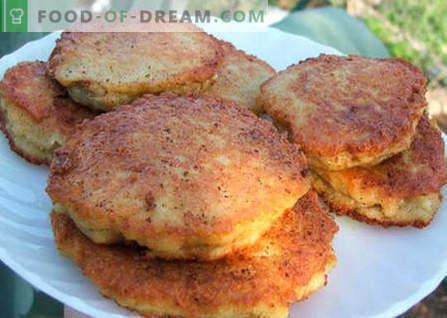 Vleespannenkoekjes zijn de beste recepten. Hoe goed en smakelijk pannenkoeken met vlees koken.