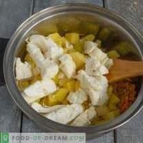 Roomkoolsoep met spekjes - heldere kleur en smaak