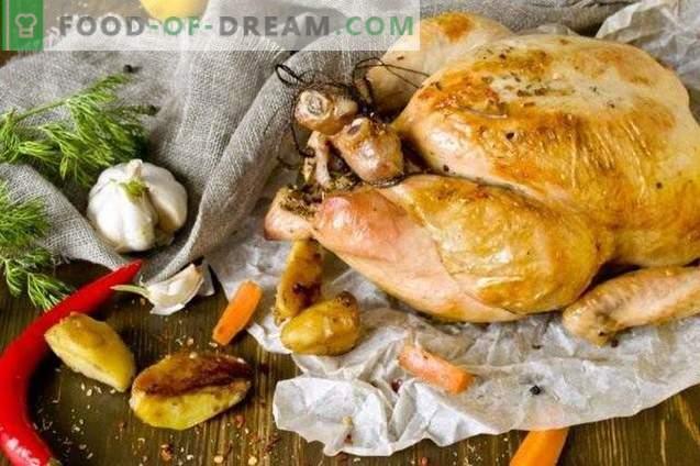 Hele gebakken kip