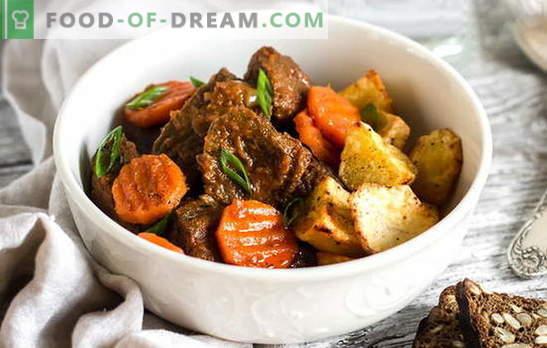 Lekker koken - rundvleesstoofpot. Stevige en eenvoudige variaties op rundvleesstoofpot: met bonen, pruimen, champignons