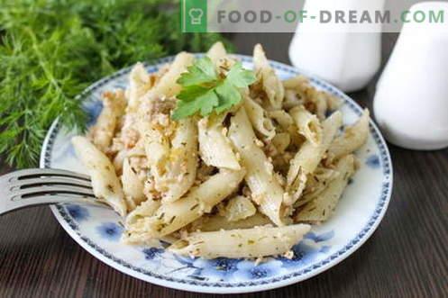 Navy Pasta: referentie recept