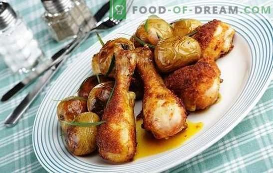 Kippenpoten in een slowcooker: in zure room, met champignons, groenten. De beste recepten voor kippenpoten in een slowcooker: gevuld en gefrituurd