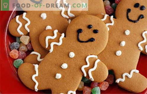 Gingerbread-koekjes - de beste recepten. Hoe peperkoekkoekjes te koken.