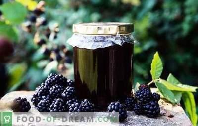 Blackberry-jam - we zullen een pot vitamines klaarmaken! Recepten van verschillende bramenjam voor fijnproevers en hun gezondheid