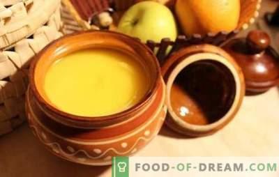 Ghee thuis - hoe je het meest bruikbare product kunt maken. Ghee (zelfgemaakte) boter - eenvoudige recepten