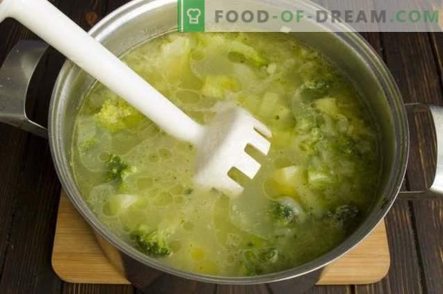 Dieetbroccoli-roomsoep