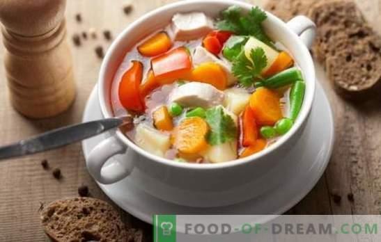 Kipgroentesoep kan een meesterwerk zijn! De beste recepten voor kippengroentesoep met room, kaas, gember, maïs, pompoen