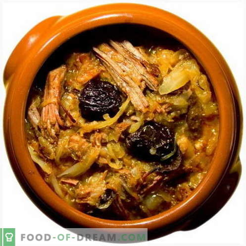 Gestoofde kool - de beste recepten. Hoe goed en smakelijk koken gestoofde kool.