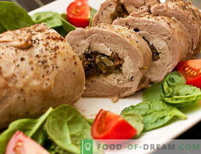 Meatloaf - de beste recepten. Hoe gehaktbrood en smakelijk te koken.