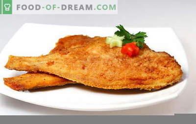 Bot bakken om de vis smakelijk te maken. Hoe zich te ontdoen van onaangename geuren en hoeveel bot te braadoven