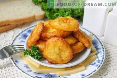 Aardappelkroketten - een interessant gerecht van gewone aardappelen