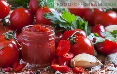 Pašdarināts kečups ir noderīgs un diezgan vienkāršs. Interesantas mājās gatavotas ķiploku receptes no tomātiem, pipariem, ērkšķogām, āboliem, plūmēm un ķiršiem