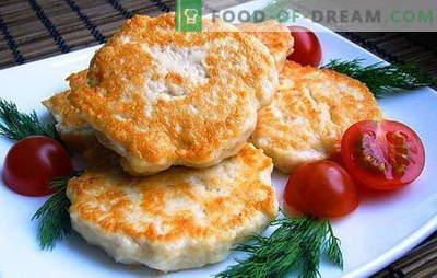 Kipfilet met mayonaise - geef sappigheid! Recepten gewone en gehakte kip schnitzels met mayonaise