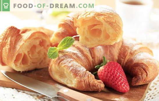 Hoe maak je Franse croissants? Bakken is lekkerder thuis! Franse zelfgemaakte croissantrecepten