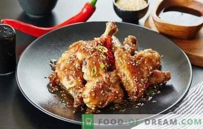 Kippendijen in een slowcooker: gebakken, gebakken, gestoomd. Een selectie van interessante recepten dijen in de crock-pot