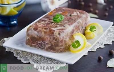 Најдобри и докажани рецепти на свинско месо и говедско месо. Тајните на готвењето вкусно свинско месо со говедско месо