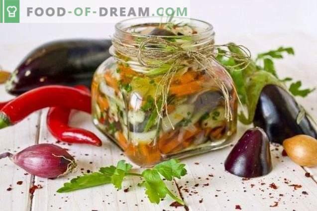 Salata de vinete pentru iarnă
